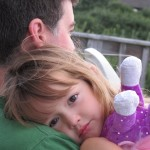 Wordless Wednesay: Daddy's girl (and Sparkles the Unicorn)